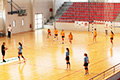 handball in sport dome makarska